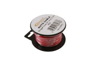 Connect 36973 Mini Reel Automotive Cable 27 Amp Red 2.2m